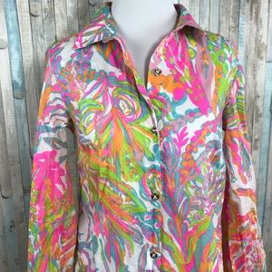 4e84ccd79a5 Lilly Pulitzer Swim - Lilly Pulitzer XS Jupiter Island Cover Up Tunic
